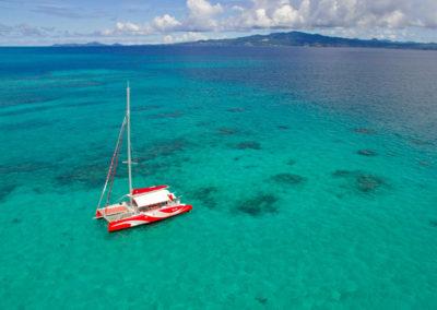 Croisière en catamaran sur le lagon de Mayotte
