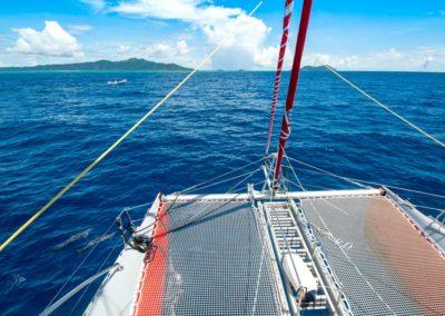 Sortie en mer en catamaran à Mayotte