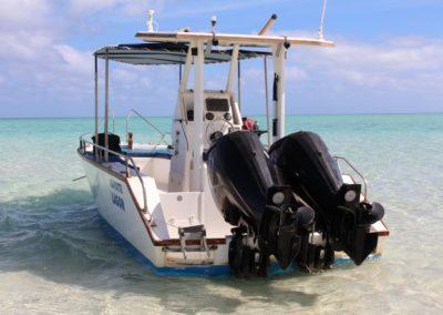 transfert en bateau taxi à Mayotte