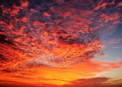 Coucher de soleil en catamaran sur le lagon de Mayotte