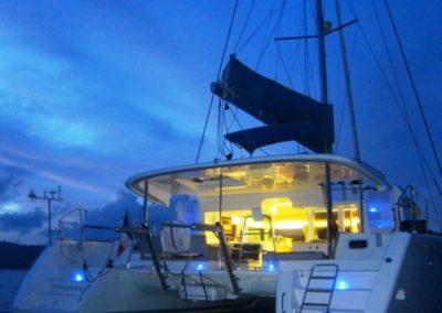 Romantic cruise à Mayotte sur le catamaran Alamandas boat de nuit